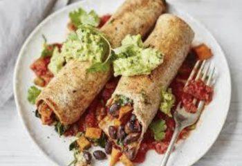 Vegetarian Enchilada Wrap