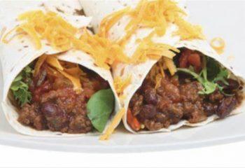 Beef Taco Wrap