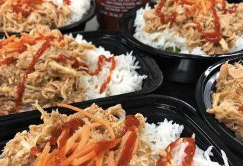 Honey Sriracha Chicken Bowl - Weight Loss
