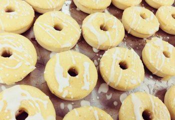 Lemon Cake Protein Donut