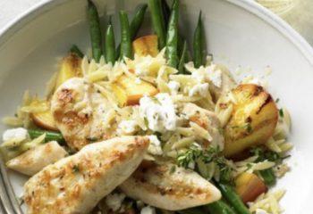 Garlic Parm Chicken Bowl-Weight Loss