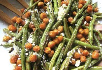 Garlic Parm Chick Pea Bowl