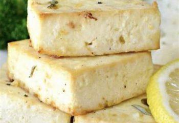 Citrus Baked Tofu Bowl-Vegan